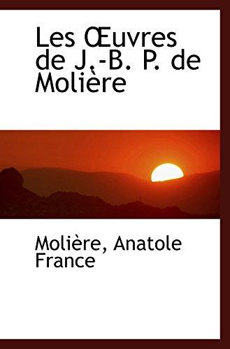9780554470115: Les uvres de J.-B. P. de Molière