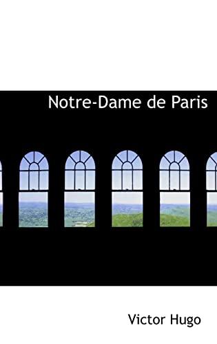 9780554539270: Notre-Dame de Paris (French Edition)