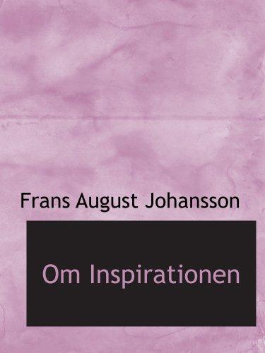 9780554540870: Om Inspirationen