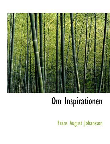 9780554540900: Om Inspirationen (Large Print Edition)