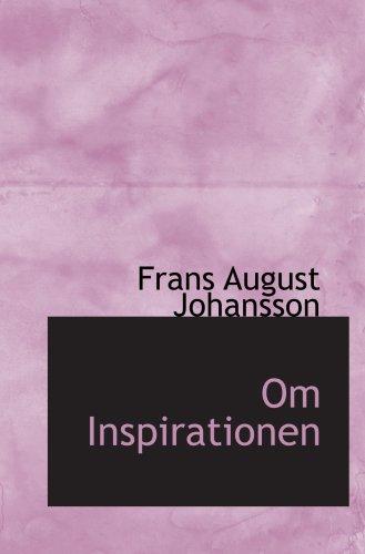 9780554540924: Om Inspirationen