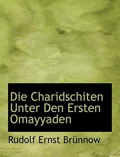 9780554552248: Die Charidschiten Unter Den Ersten Omayyaden