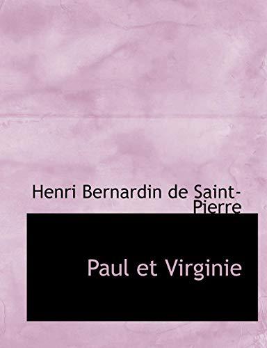 9780554562940: Paul et Virginie (French Edition)