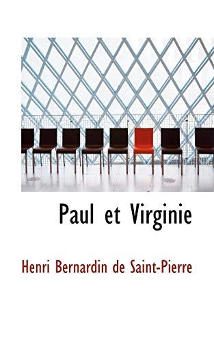 9780554562964: Paul et Virginie (French Edition)