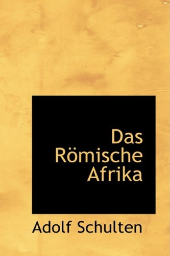 9780554573854: Das Romische Afrika
