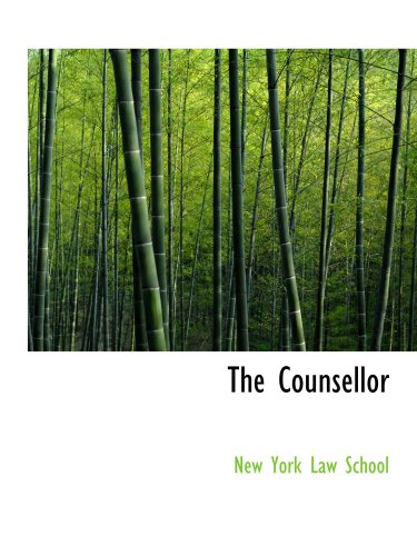 9780554578149: The Counsellor