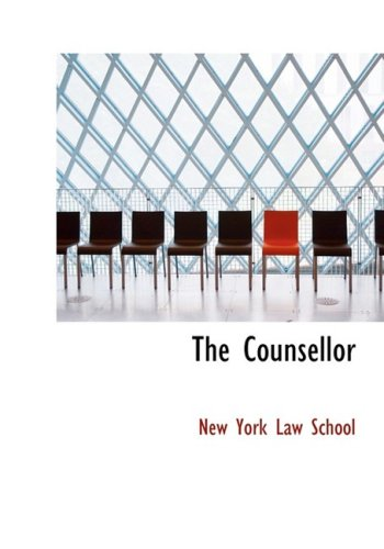 9780554578187: The Counsellor (Large Print Edition)