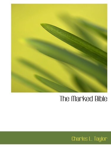 9780554580296: The Marked Bible