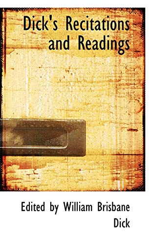 9780554676401: Dick's Recitations and Readings