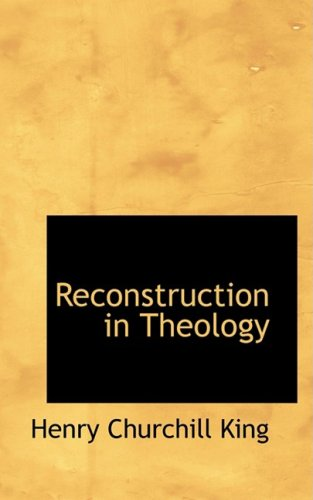 9780554705378: Reconstruction in Theology