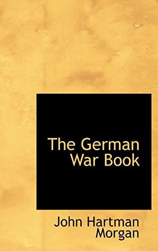 9780554711003: The German War Book