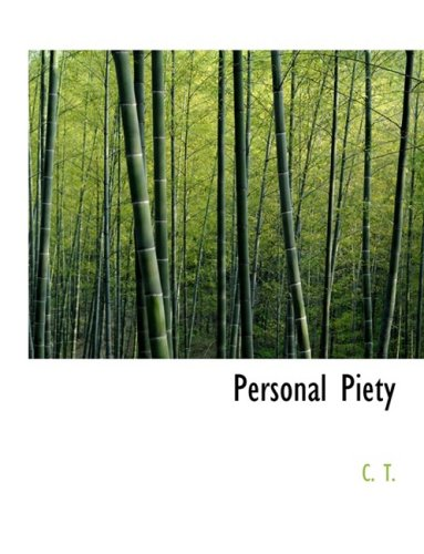 9780554805382: Personal Piety (Large Print Edition)