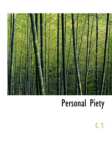 9780554805405: Personal Piety (Large Print Edition)