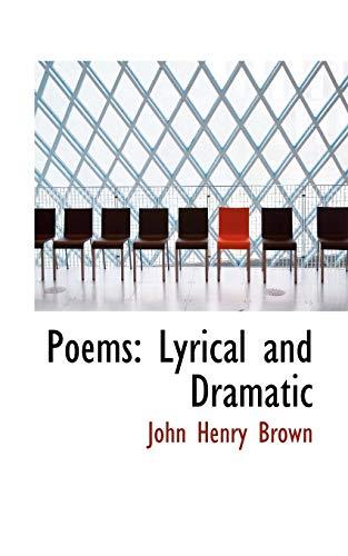 9780554826226: Poems: Lyrical and Dramatic
