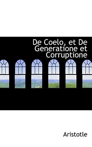 9780554854854: De Coelo, et De Generatione et Corruptione (French Edition)