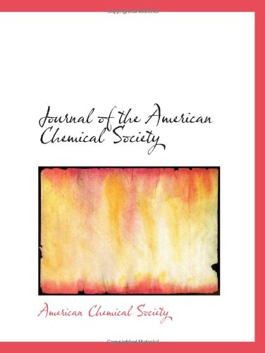 9780554889184: Journal of the American Chemical Society