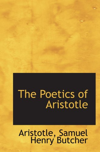 9780554909967: The Poetics of Aristotle