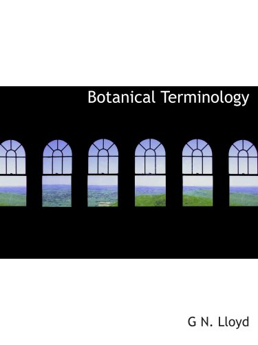 9780554913698: Botanical Terminology