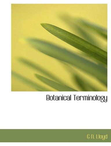 9780554913704: Botanical Terminology (Large Print Edition)