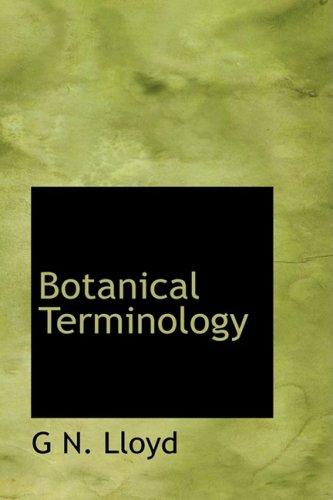 9780554913742: Botanical Terminology