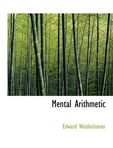 Mental Arithmetic: Edward Weidenhamer