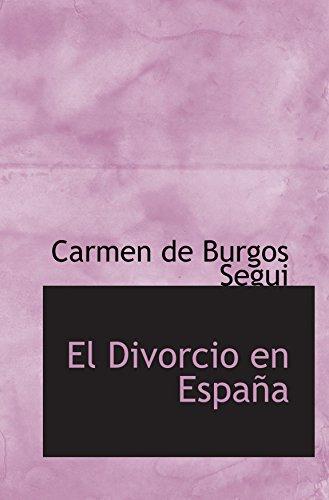 9780554937410: El Divorcio en España (Catalan Edition)
