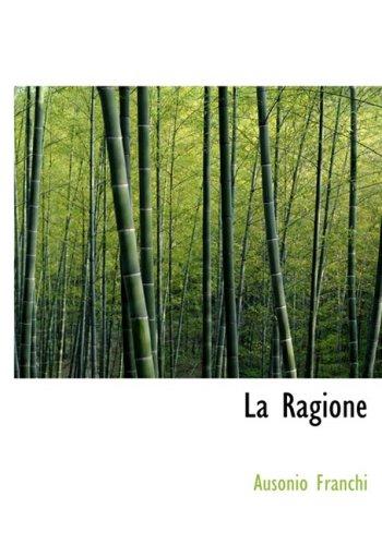9780554988122: La Ragione (Large Print Edition) (Italian Edition)