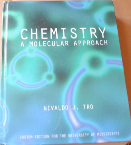 9780555003190: Chemistry A Molecular Approach (Custom Edition For the University of Mississippi)