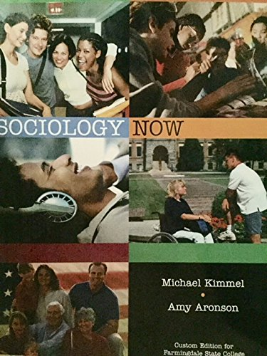 9780555004531: sociology now (sociology now a custom edition for tarrant county NE)