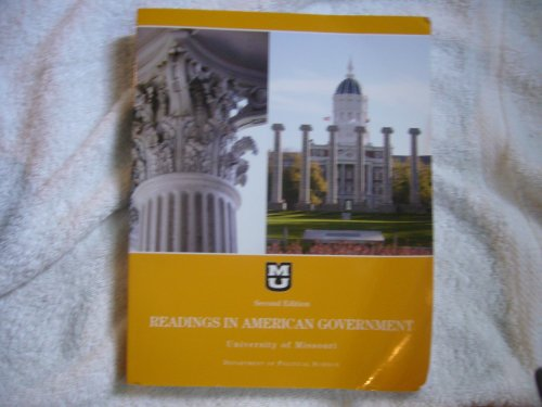 Radings in American Government for University of Missouri Department of Political Science