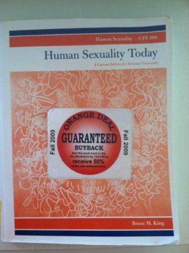 Bruce king human sexuality today