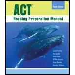 9780555036396: ACT Reading Preparation Manual Fourth Editoin