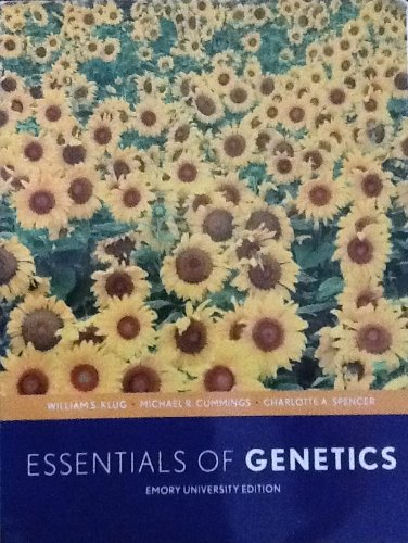 9780555038086: Essentials of Genetics (A Custom Edition for Emory University)
