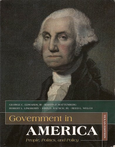 Government in America (People, Politics, and Policy,: III - Martin