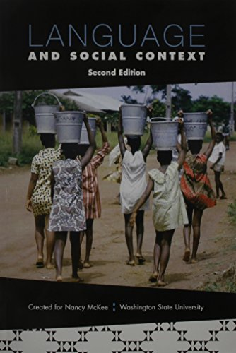9780555039236: Language and Social Context: Second Edition