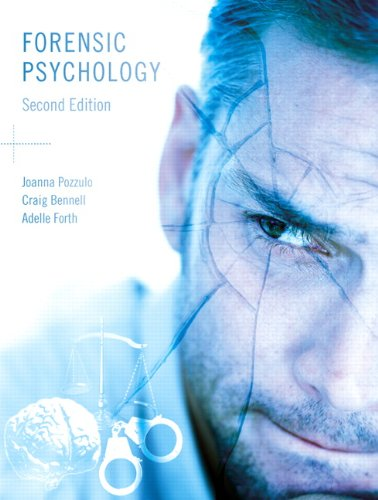 Study Guide for Forensic Psychology: Joanna Pozzulo, Craig
