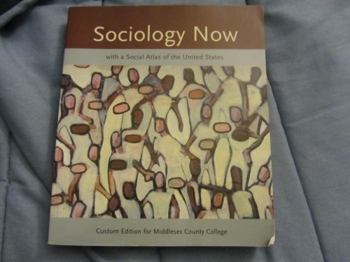 9780555046654: Sociology (Custom Edition for Middlesex County College)