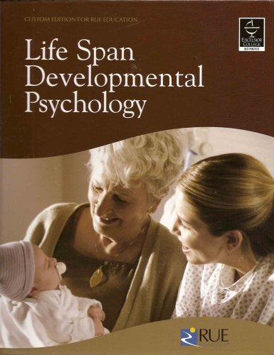 Rue Reference Textbook for Life Span Developmental: n/a