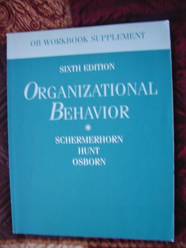 9780555116791: Organizational Behaviour