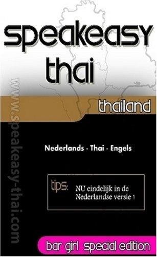 9780557000838: Speakeasy Thai Nederlands - Thai - Engels (Dutch Edition)
