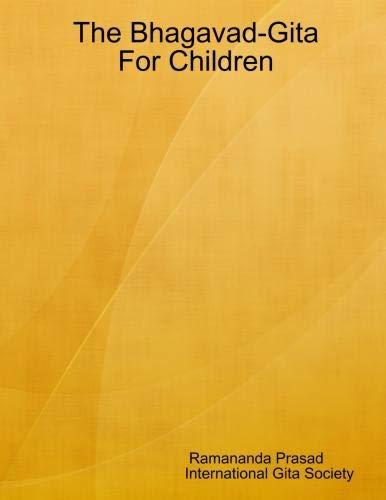 9780557013616: Bhagavad-Gita For Children