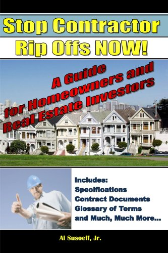 9780557030873: Stop Contractor Rip Offs Now!