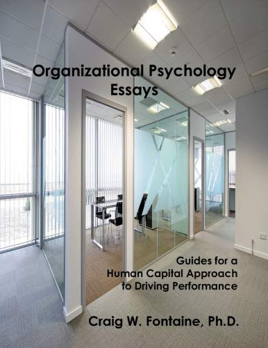 9780557055692: Organizational Psychology Essays