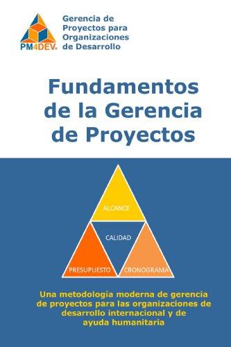 9780557058600: Fundamentos de la Gerencia de Proyectos de Desarrollo (Spanish Edition)