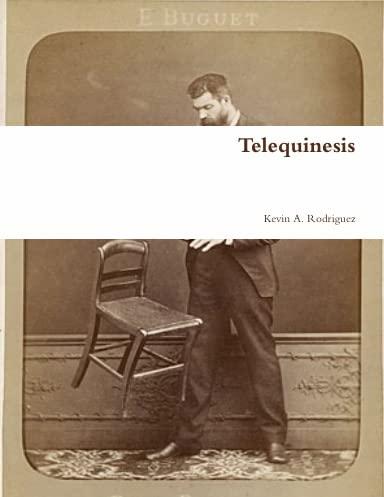 9780557061617: Telequinesis (Spanish Edition)