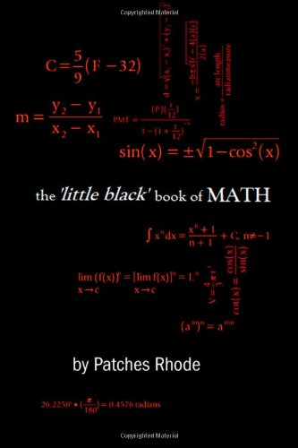 9780557061914: The 'Little Black' Book Of Math