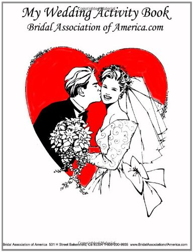 My Wedding Activity Book (9780557062171) by Kyle Brown