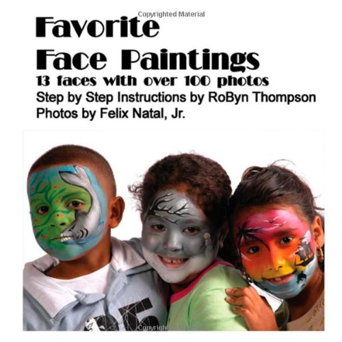 9780557067121: Favorite Face Paintings