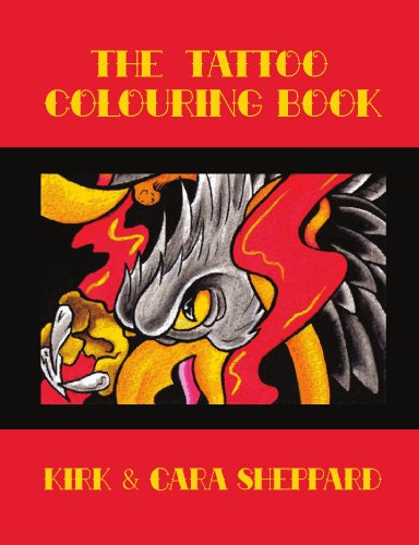 9780557074921: The Tattoo Colouring Book