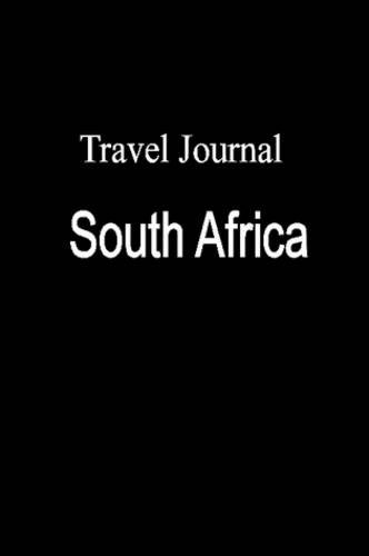 9780557080410: Travel Journal South Africa